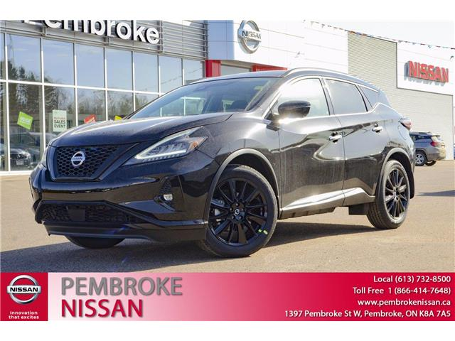 2021 Nissan Murano Midnight Edition (Stk: 21061) in Pembroke - Image 1 of 30