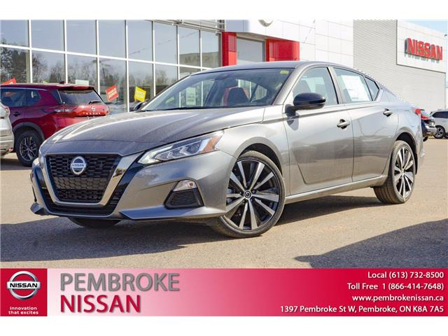2021 Nissan Altima 2.5 SR (Stk: 21052) in Pembroke - Image 1 of 31