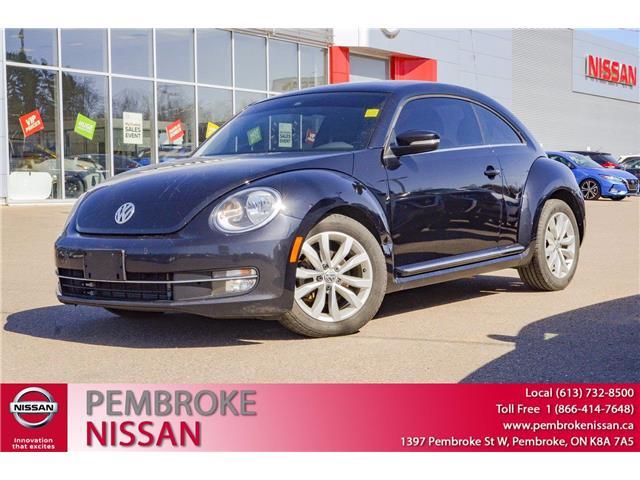 2016 Volkswagen Beetle 1.8 TSI Comfortline (Stk: 20141A) in Pembroke - Image 1 of 29