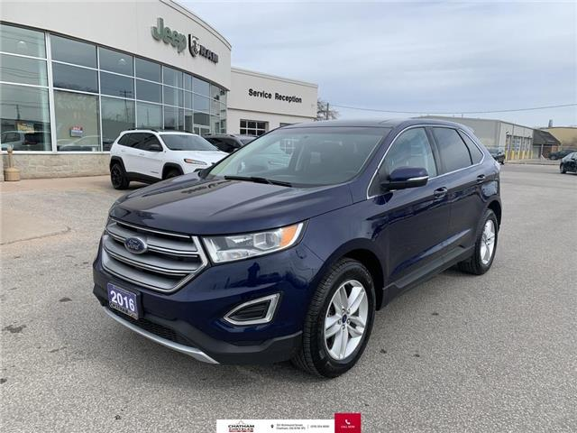 2016 Ford Edge SEL (Stk: U04752) in Chatham - Image 1 of 28