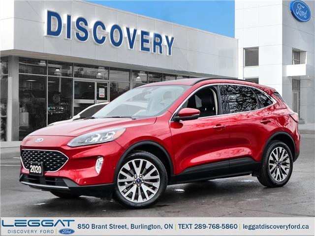 2020 Ford Escape Titanium Hybrid (Stk: 20-86528-B) in Burlington - Image 1 of 28