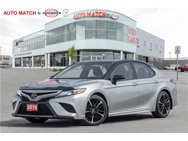 2018 Toyota Camry XSE V6 (Stk: U1451) in Barrie - Image 1 of 22