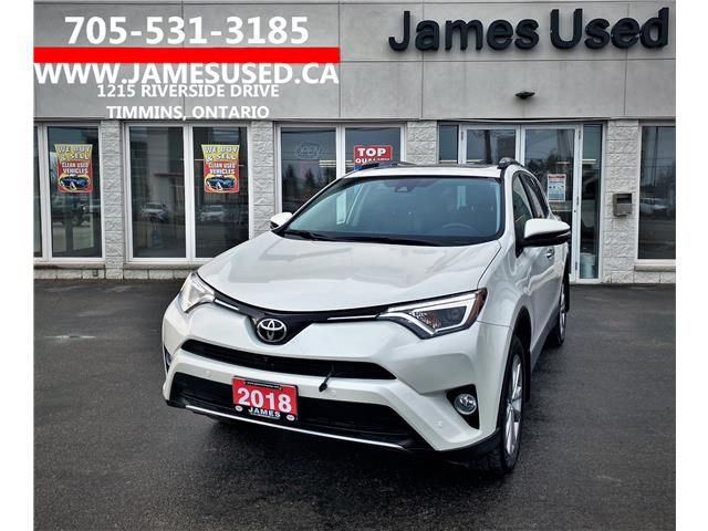 2018 Toyota RAV4 Limited (Stk: N21212A) in Timmins - Image 1 of 14
