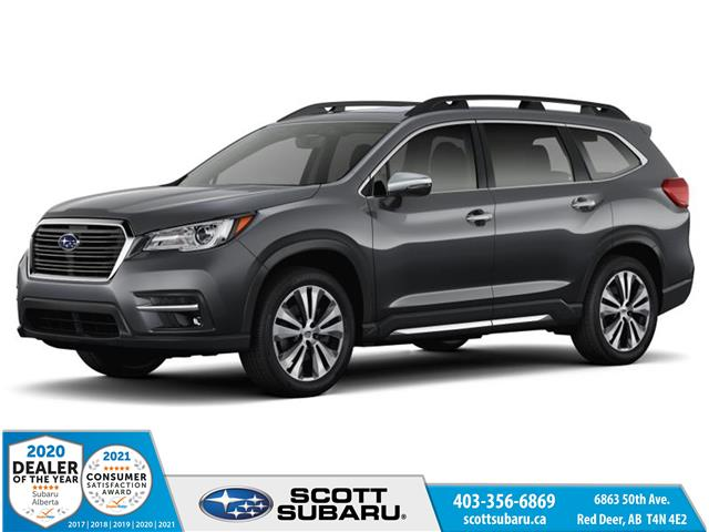 2021 Subaru Ascent Premier w/Black Leather 4S4WMARD7M3440341 SS0450 in Red Deer