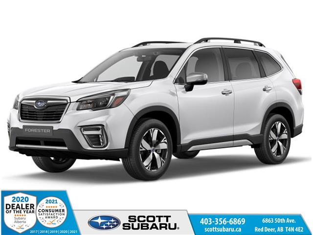 2021 Subaru Forester Premier (Stk: 504420) in Red Deer - Image 1 of 10