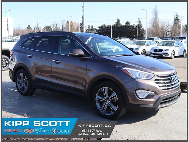 2013 Hyundai Santa Fe XL Limited KM8SNDHF4DU009305 09305U in Red Deer