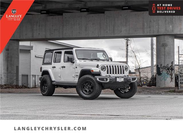 2019 Jeep Wrangler Unlimited Sahara (Stk: LC0736) in Surrey - Image 1 of 21