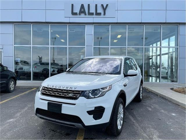 2019 Land Rover Discovery Sport SE AWD | Leather Interior | Heated Seats (Stk: R00548) in Tilbury - Image 1 of 20
