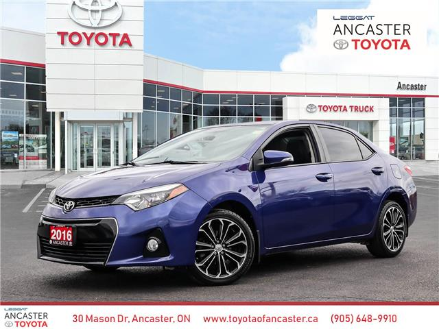 2016 Toyota Corolla S (Stk: 21155A) in Ancaster - Image 1 of 24