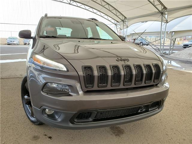 2018 Jeep Cherokee Limited 1C4PJMDX0JD581987 189936 in AIRDRIE