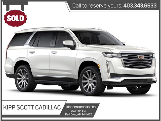 2021 Cadillac Escalade Premium Luxury Platinum (Stk: 05825) in Red Deer - Image 1 of 1