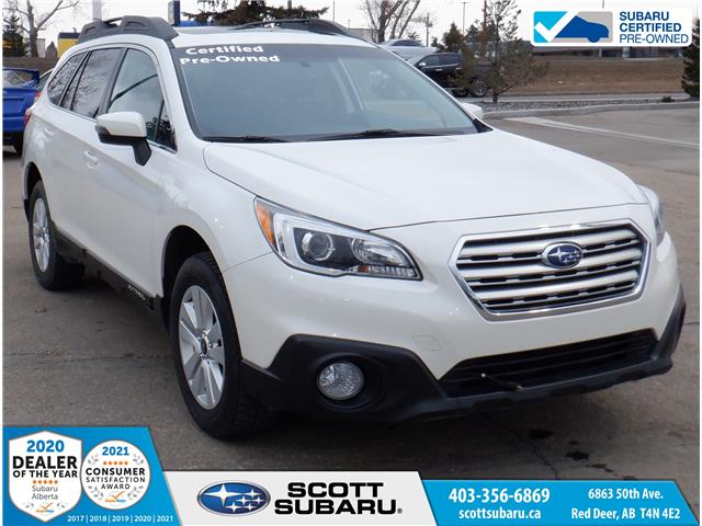 2015 Subaru Outback 2.5i Touring Package 4S4BSCDC8F3320713 20713U in Red Deer