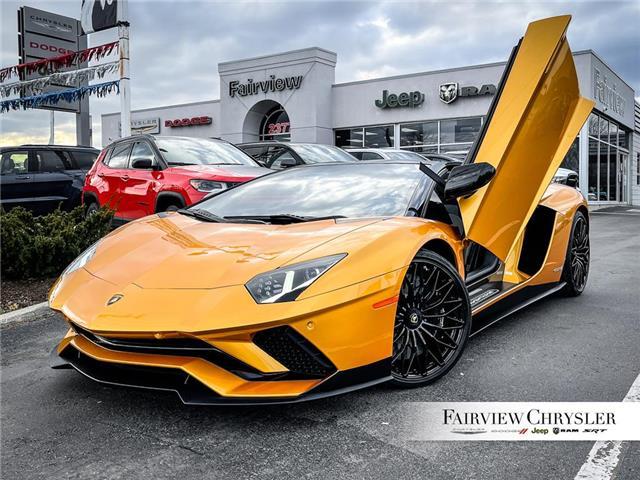 2019 Lamborghini Aventador S | ROADSTER | CARBON INTERIOR | SENSONUM AUDIO | (Stk: U18427) in Burlington - Image 1 of 20