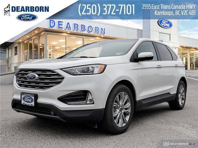2019 Ford Edge Titanium (Stk: PM043) in Kamloops - Image 1 of 25