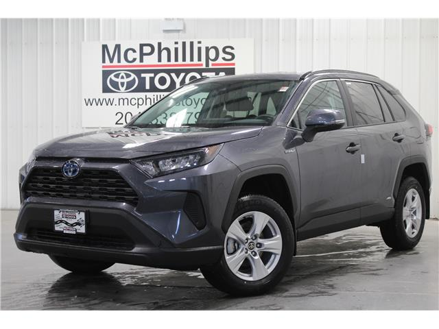 2021 Toyota RAV4 Hybrid LE (Stk: W109267) in Winnipeg - Image 1 of 17