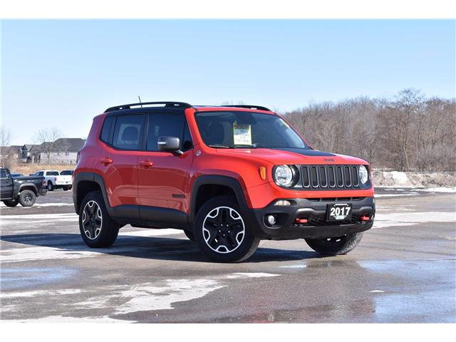 2017 Jeep Renegade Trailhawk (Stk: 21009A) in London - Image 1 of 20