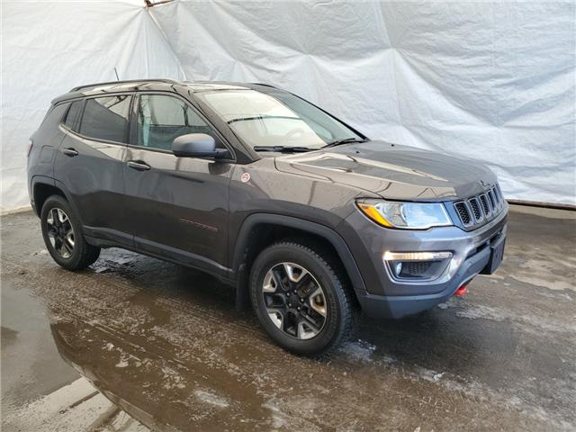 2018 Jeep Compass Trailhawk (Stk: 2110901) in Thunder Bay - Image 1 of 18