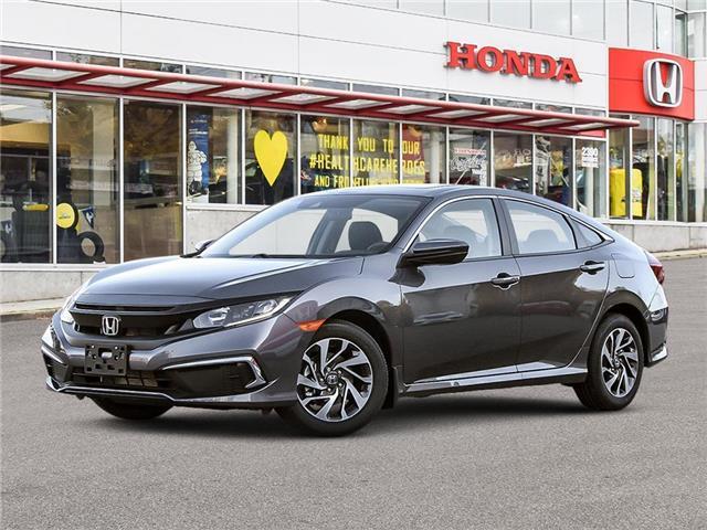 2021 Honda Civic EX (Stk: 3M18330) in Vancouver - Image 1 of 23