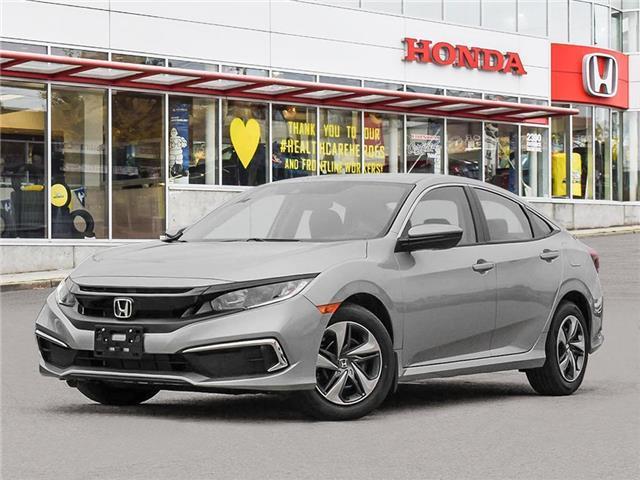 2021 Honda Civic LX (Stk: 3M27410) in Vancouver - Image 1 of 23