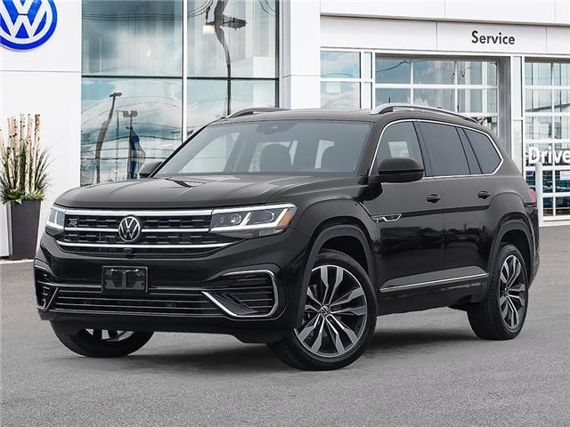 2021 Volkswagen Atlas 3.6 FSI Execline (Stk: A21058) in Sault Ste. Marie - Image 1 of 23