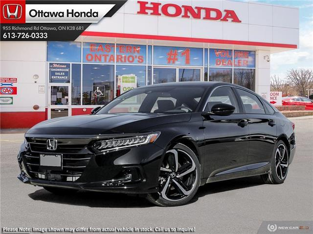 2021 Honda Accord SE 1.5T (Stk: 344610) in Ottawa - Image 1 of 23