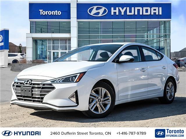 2020 Hyundai Elantra Preferred w/Sun & Safety Package (Stk: UH07081) in Toronto - Image 1 of 27