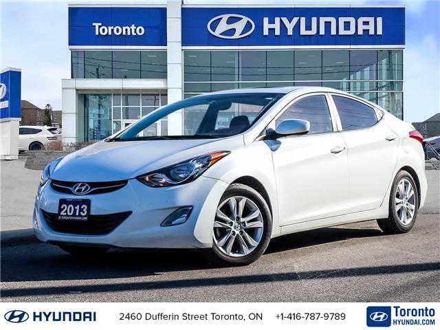 2013 Hyundai Elantra L (Stk: U07096) in Toronto - Image 1 of 11