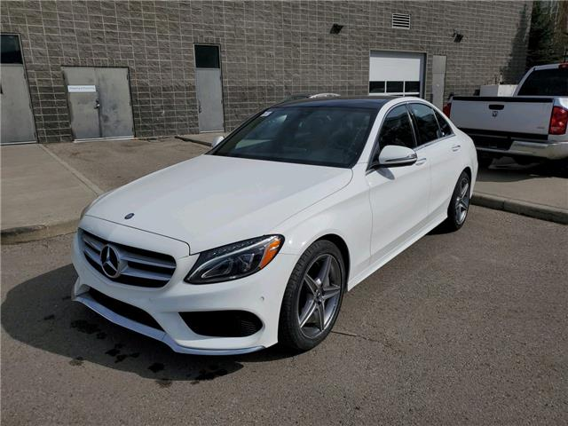2017 Mercedes-Benz C-Class Base (Stk: K8238) in Calgary - Image 1 of 24