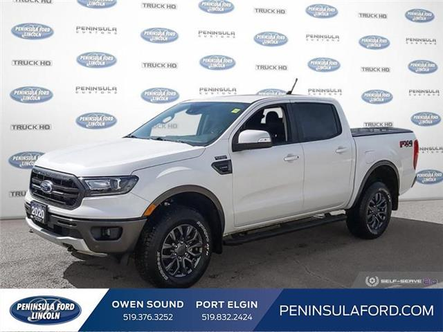 2020 Ford Ranger Lariat (Stk: 21FE84A) in Owen Sound - Image 1 of 23