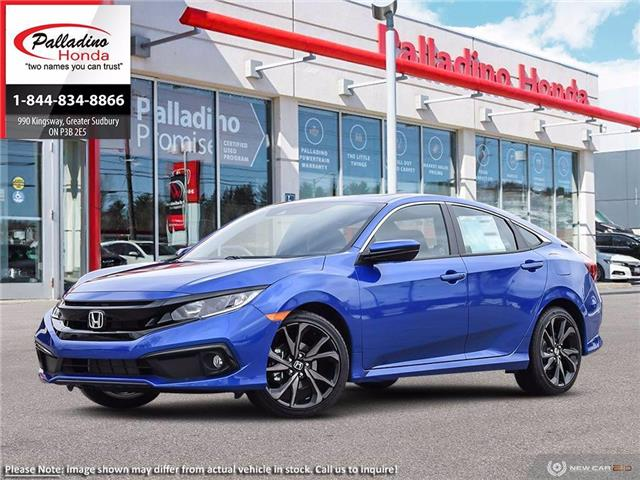 2021 Honda Civic Sport (Stk: 23200) in Greater Sudbury - Image 1 of 23