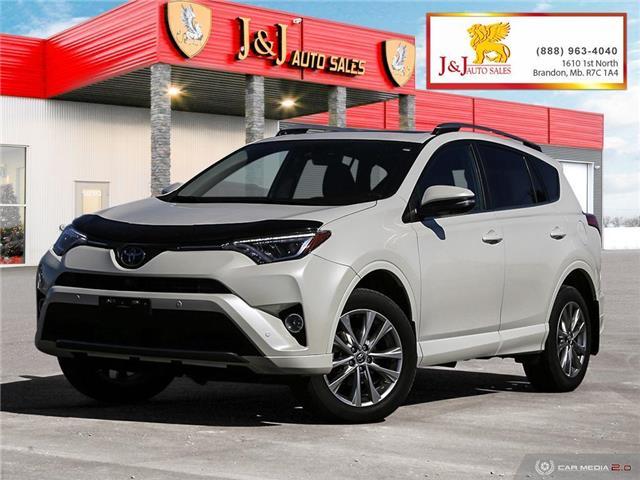 2018 Toyota RAV4 Limited (Stk: J21039) in Brandon - Image 1 of 27