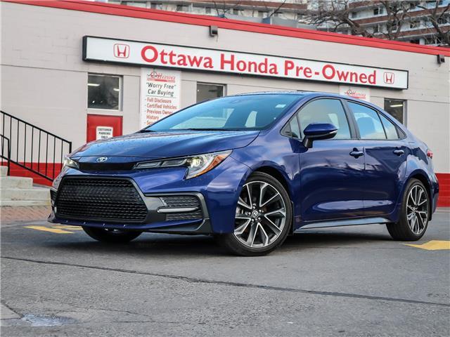 2020 Toyota Corolla  (Stk: H89160) in Ottawa - Image 1 of 28