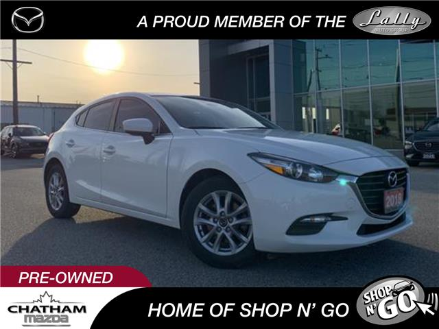 2018 Mazda Mazda3 Sport GS (Stk: NM3444A) in Chatham - Image 1 of 22