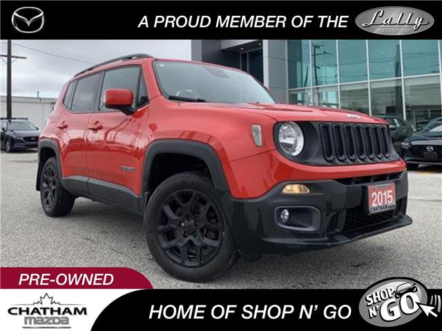 2015 Jeep Renegade North (Stk: UM2567) in Chatham - Image 1 of 22