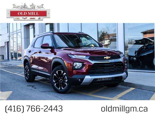 2021 Chevrolet TrailBlazer LT (Stk: MB143965) in Toronto - Image 1 of 22