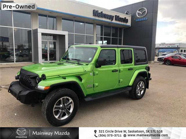 2019 Jeep Wrangler Unlimited Sahara (Stk: 1431A) in Saskatoon - Image 1 of 18