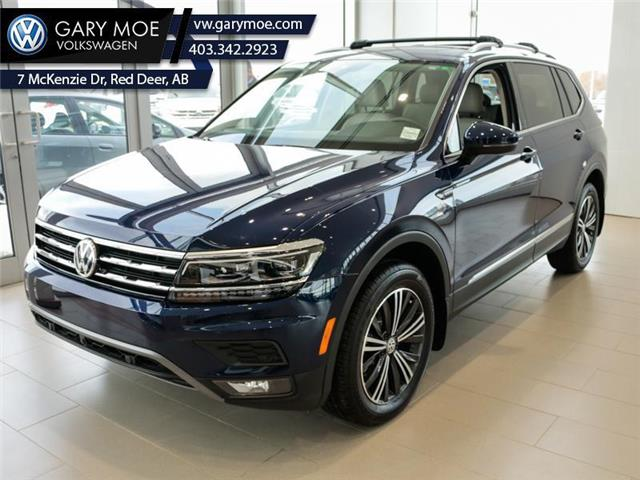 2021 Volkswagen Tiguan Highline 4MOTION (Stk: 1TG0394) in Red Deer County - Image 1 of 16