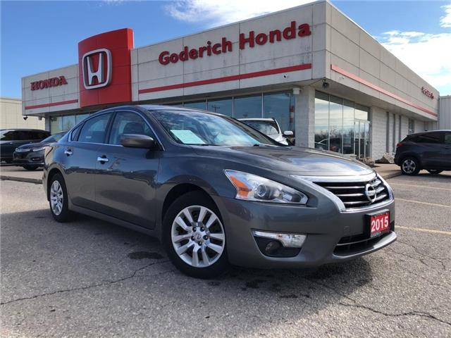 2015 Nissan Altima 2.5 S (Stk: U01921) in Goderich - Image 1 of 19