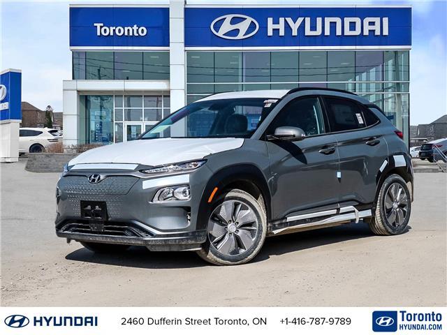 2021 Hyundai Kona EV Preferred (Stk: N22476) in Toronto - Image 1 of 30