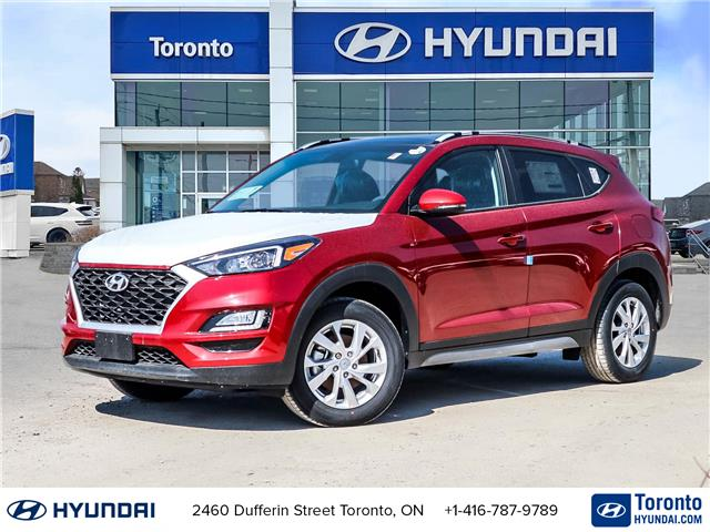 2021 Hyundai Tucson Preferred w/Sun & Leather Package (Stk: N22654) in Toronto - Image 1 of 30