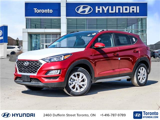 2021 Hyundai Tucson Preferred w/Sun & Leather Package (Stk: N22735) in Toronto - Image 1 of 30