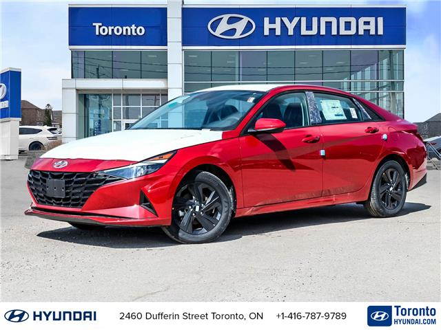 2021 Hyundai Elantra Preferred w/Sun & Safety Package (Stk: N22783) in Toronto - Image 1 of 28