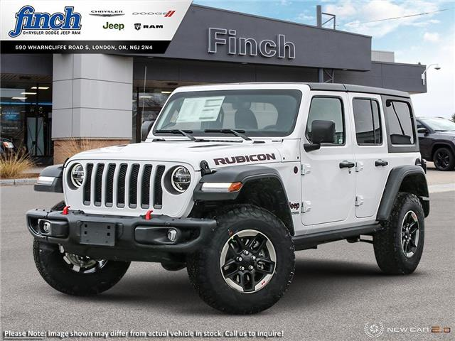 2021 Jeep Wrangler Unlimited 4xe Rubicon (Stk: 101326) in London - Image 1 of 24
