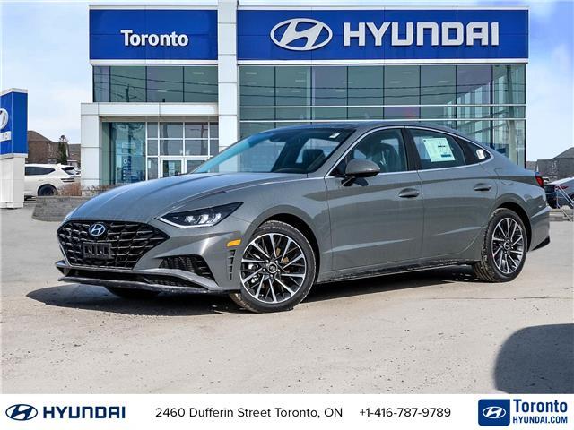 2021 Hyundai Sonata Luxury (Stk: N22854) in Toronto - Image 1 of 28