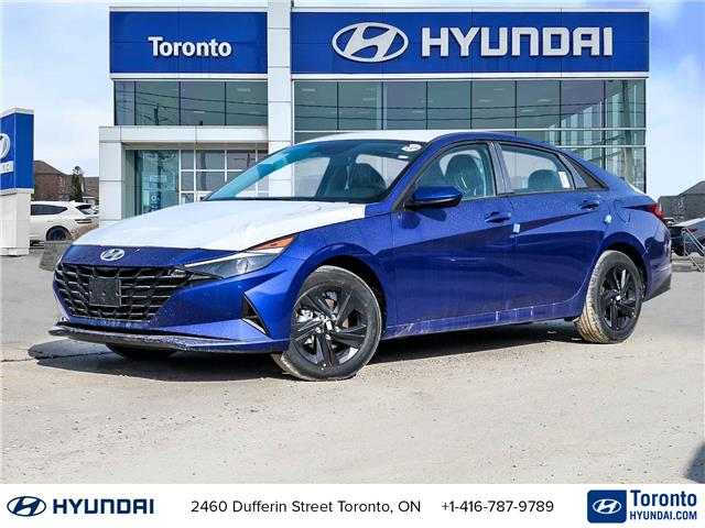 2021 Hyundai Elantra Preferred (Stk: N22933) in Toronto - Image 1 of 20