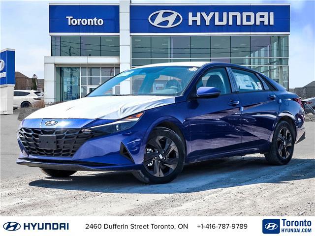 2021 Hyundai Elantra Preferred w/Sun & Tech Pkg (Stk: N22940) in Toronto - Image 1 of 26