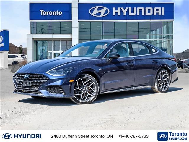 2021 Hyundai Sonata N Line (Stk: N22941) in Toronto - Image 1 of 22