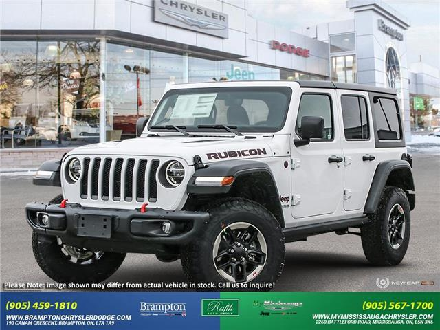 2021 Jeep Wrangler Unlimited 4xe Rubicon (Stk: ) in Brampton - Image 1 of 23