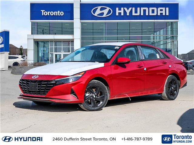 2021 Hyundai Elantra Preferred (Stk: N22943) in Toronto - Image 1 of 28