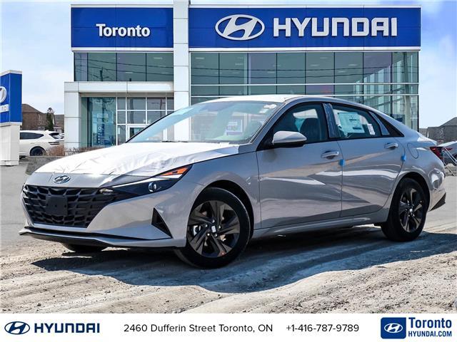 2021 Hyundai Elantra Preferred w/Sun & Tech Pkg (Stk: N22954) in Toronto - Image 1 of 27